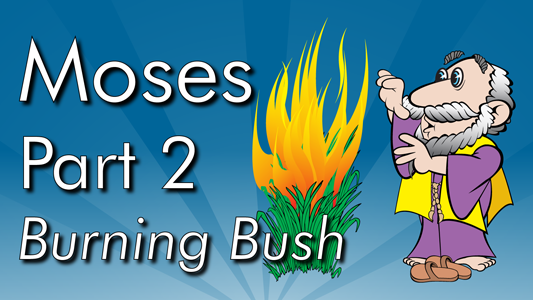 Moses kills an Egyptian slave-guard, flees to Midian, becomes a shepherd and meets God in the burning bush